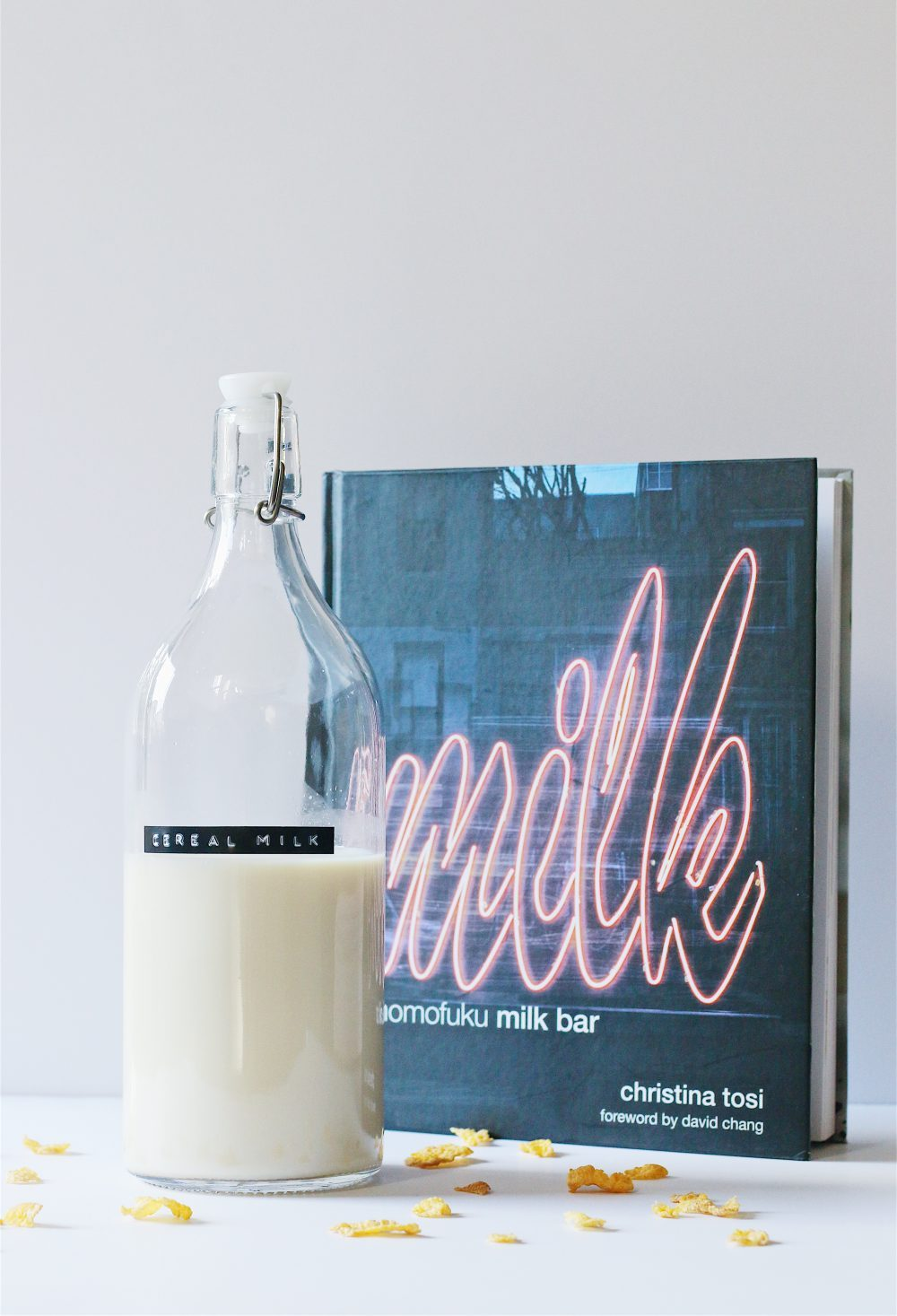 Testing momofukus cereal milk recipe herbakinglab cereal milk bottle with momofuku milk bar cookbook ccuart Images