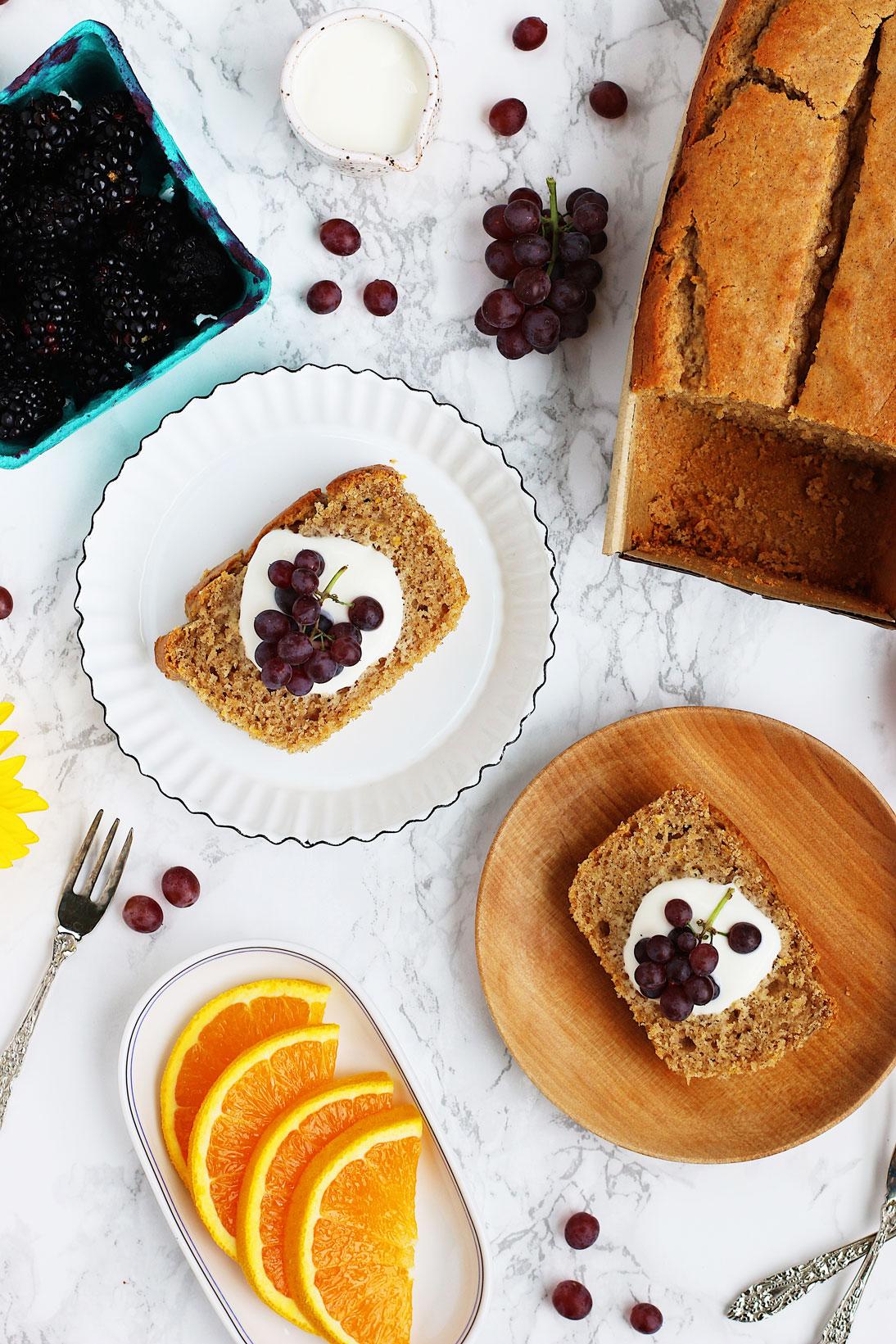 herbakinglab-orange-cardamom-yogurt-loaf-cake-on-plates