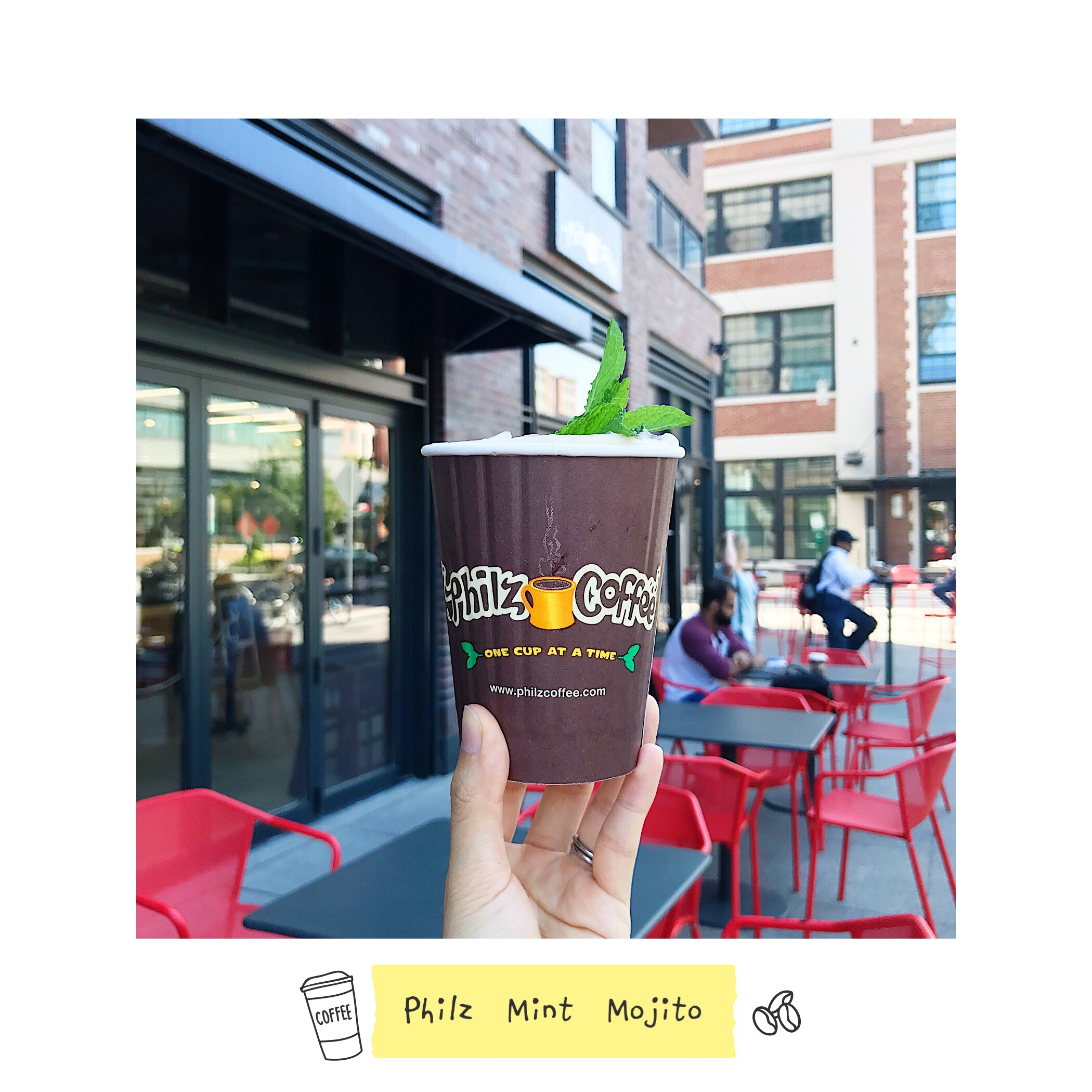 philz mint mojito washington dc