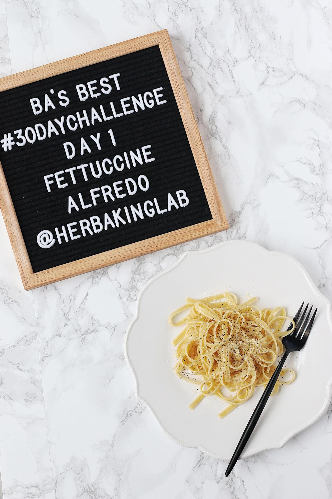 #ba30daychallenge-bon-appetit-best-recipes-day-1-fetticcone-alfredo