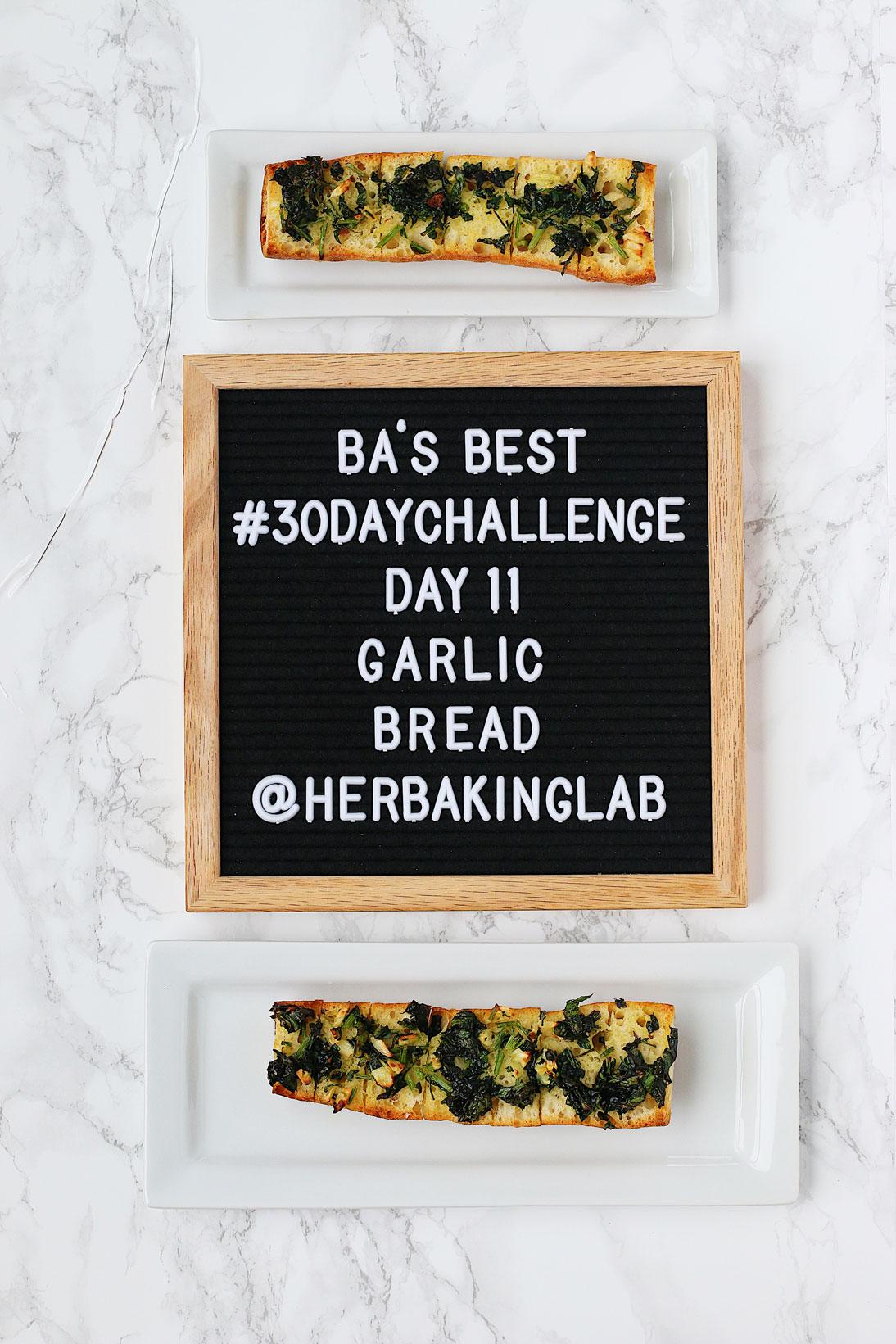 #ba30daychallenge-bon-appetit-best-recipes-day-11-garlic-bread