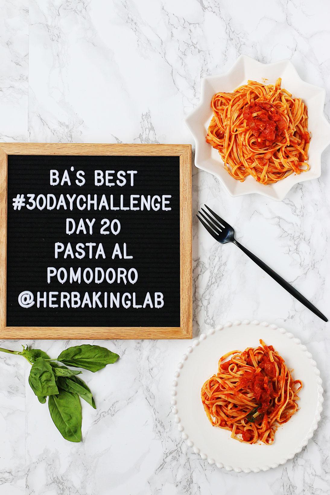 #ba30daychallenge-bon-appetit-best-recipes-day-20-pasta-al-pomodoro