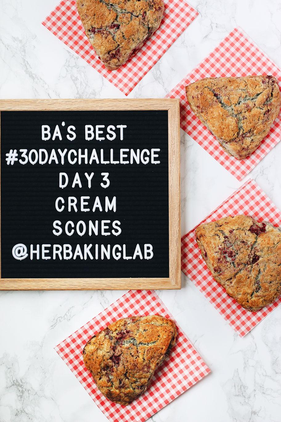 #ba30daychallenge-bon-appetit-best-recipes-day-3-cream-scones