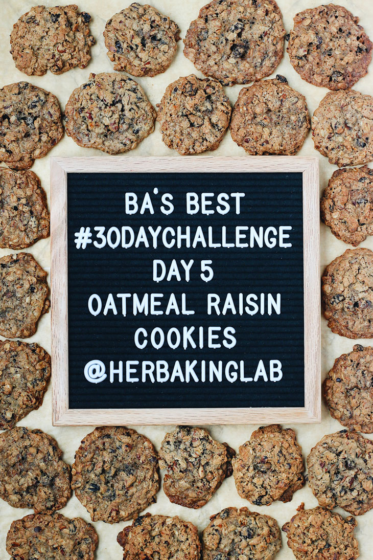 #ba30daychallenge-bon-appetit-best-recipes-day-5-oatmeal-raisin-cookies