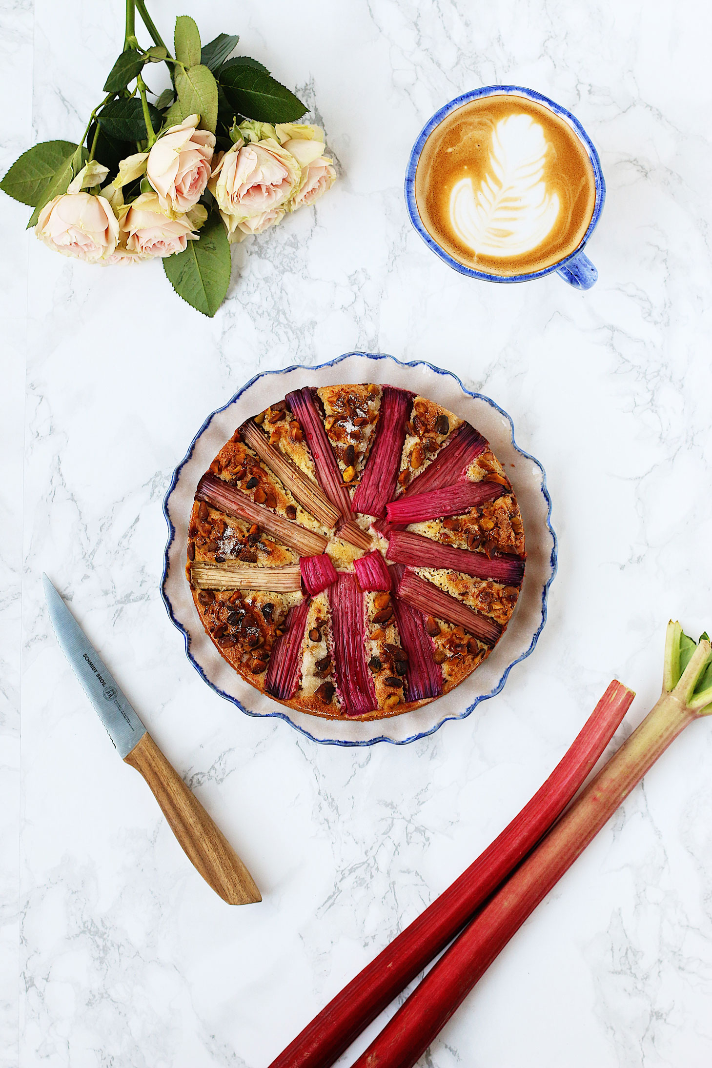 herbakinglab-whole-wheat-rhubarb-pistachio-cake