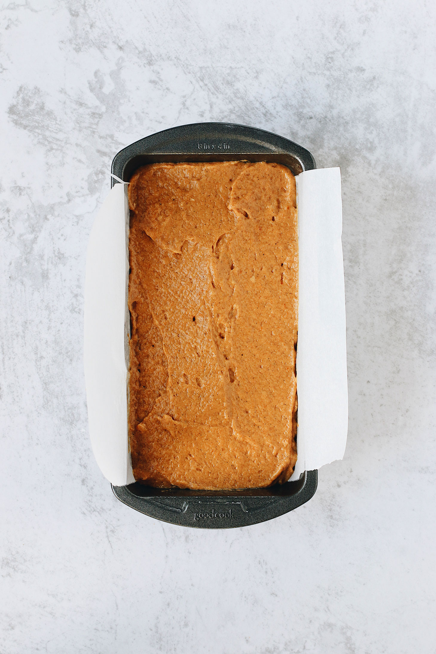 Pumpkin-Spice-Bread-with-Cream-Cheese-Swirl-finished-batter