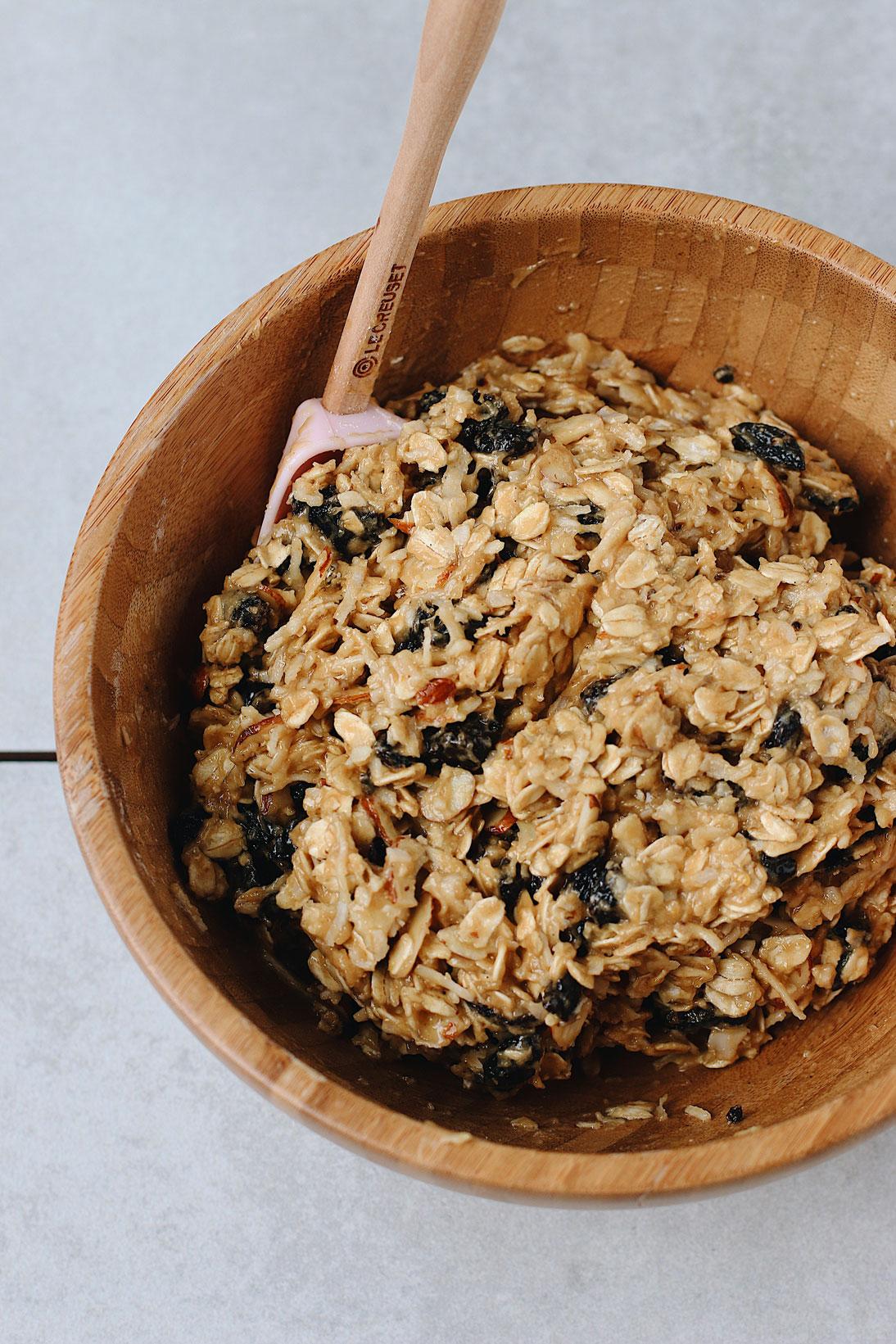 granola-biscotti-prep-mixing-dough