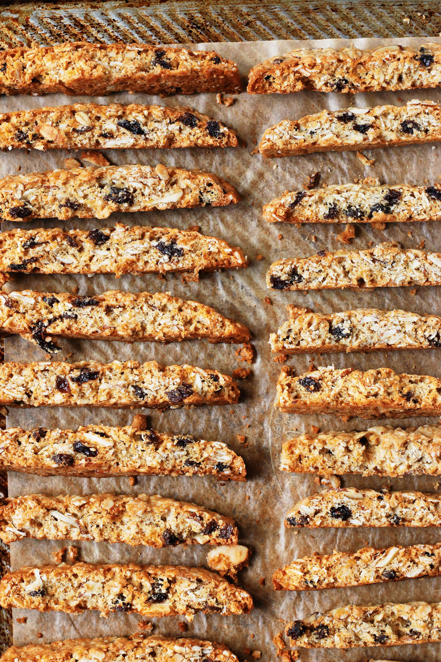 smitten-kitchen-granola-biscotti-on-baking-sheet