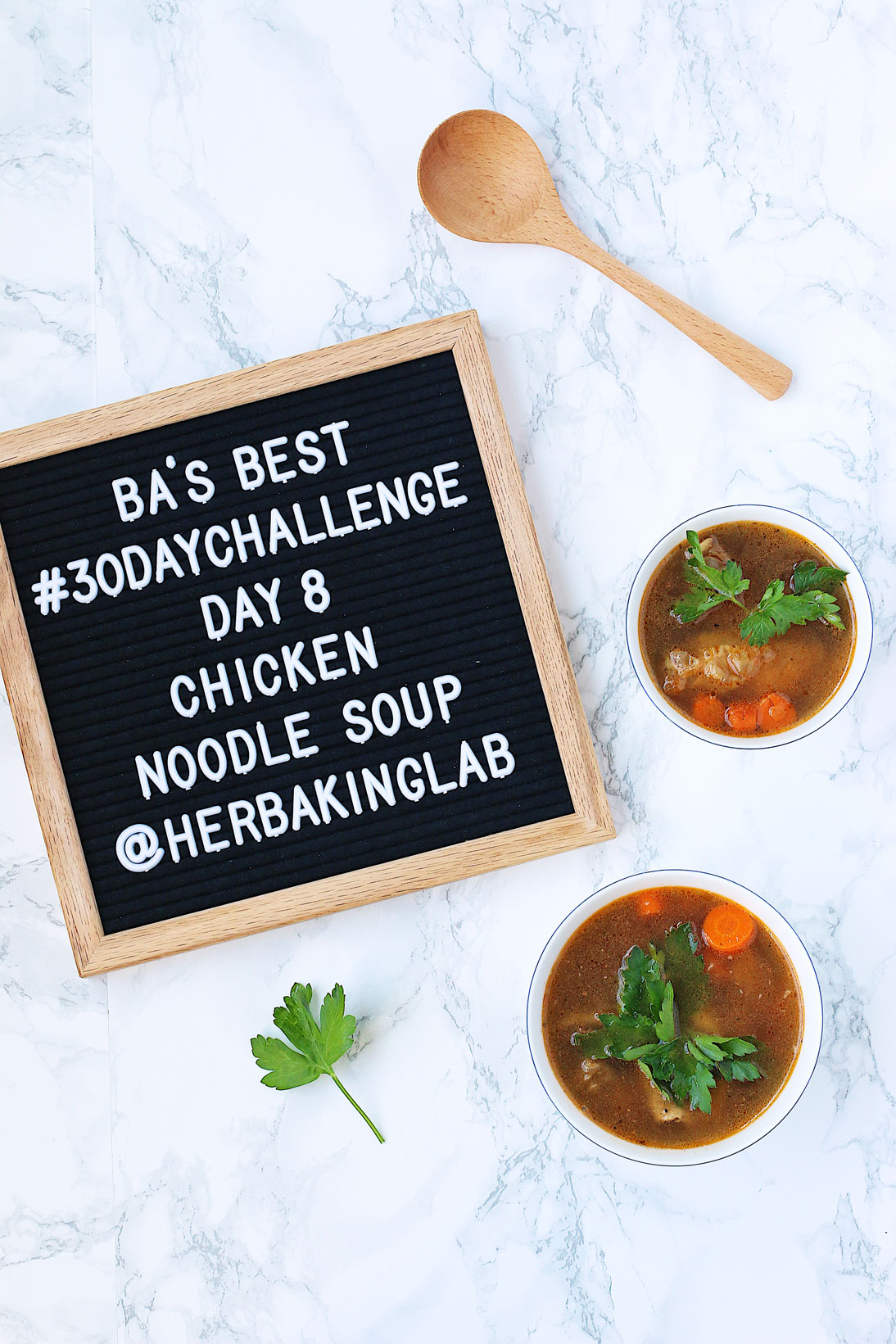 #ba30daychallenge-bon-appetit-best-recipes-day-8-chicken-noodle-soup