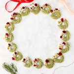 Herbakinglab-Matcha-Christmas-Wreath-Shortbread